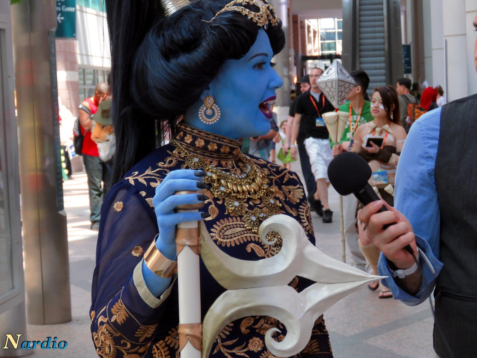 Aladdin and Genie AnimeNext Cosplay Sword top