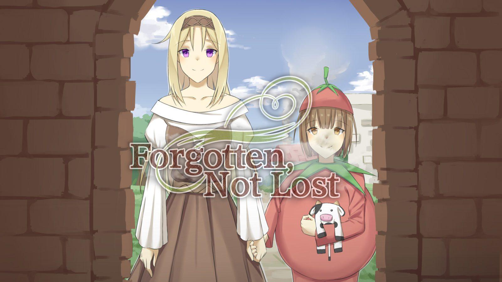 Forgotten, Not Lost main