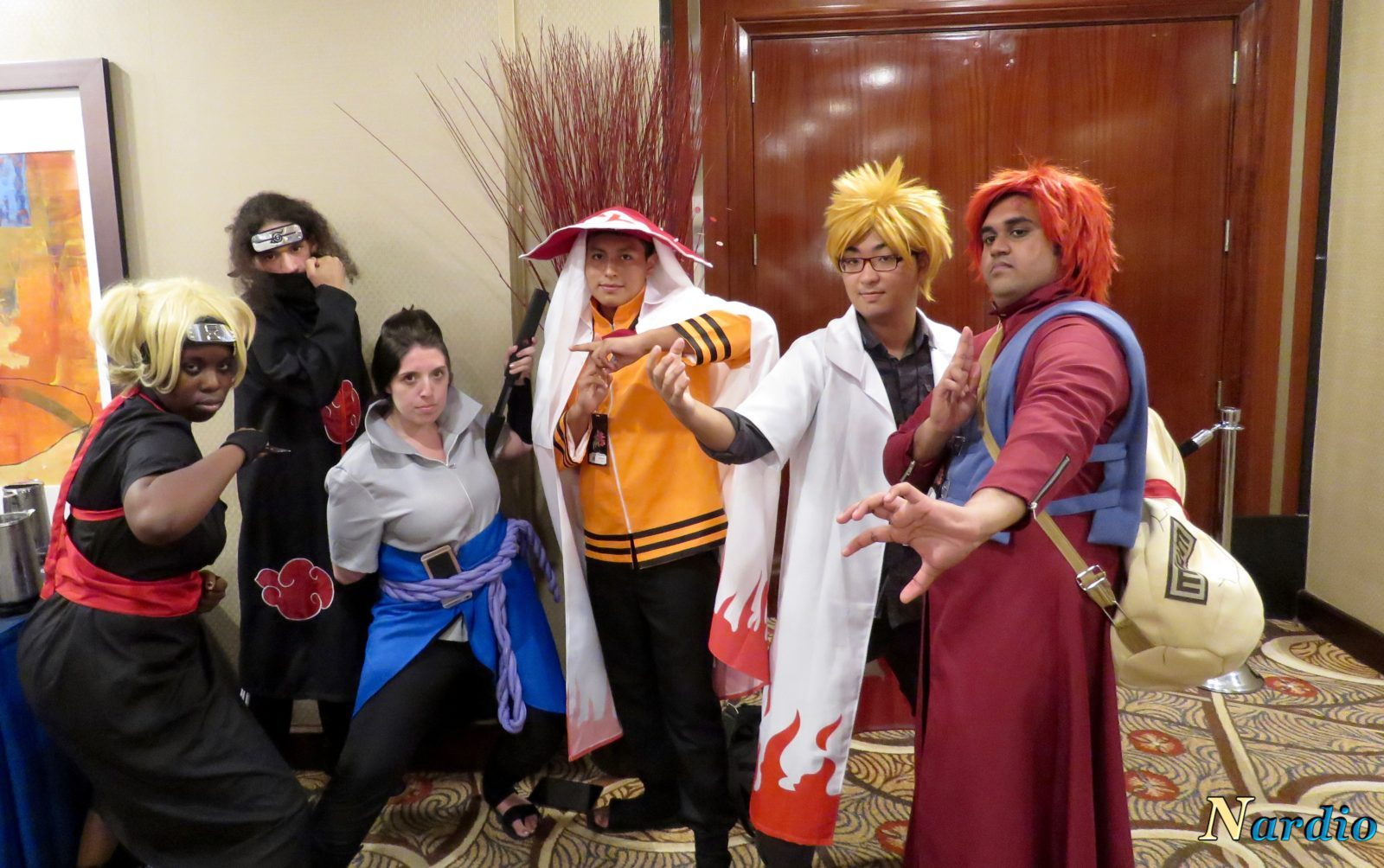 Naruto Group Cosplay Interview The World Of Nardio