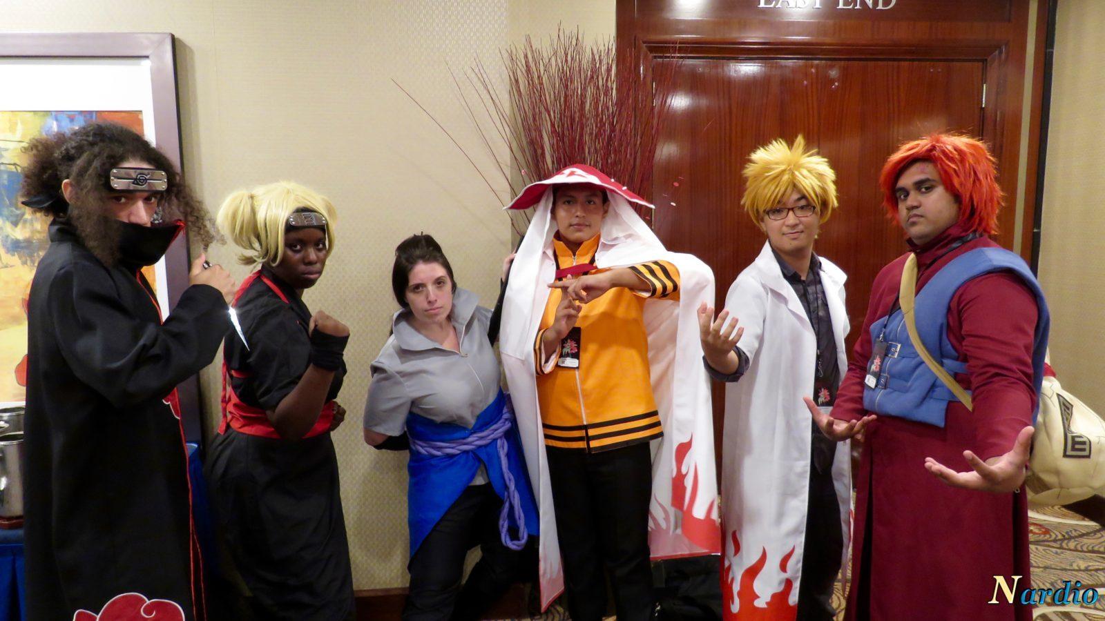 Naruto Cosplay Group Liberty City Con 2016 010 The World Of Nardio