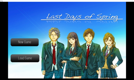 Last Days of Spring Visual Novel Review