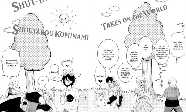 SHUT-IN SHOUTAROU KOMINAMI TAKES ON THE WORLD VOLUME 3 REVIEW