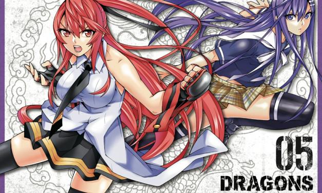 DRAGONS RIOTING VOLUME 5 Review