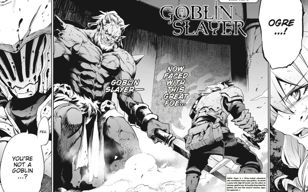 GOBLIN SLAYER CHAPTER8 Review