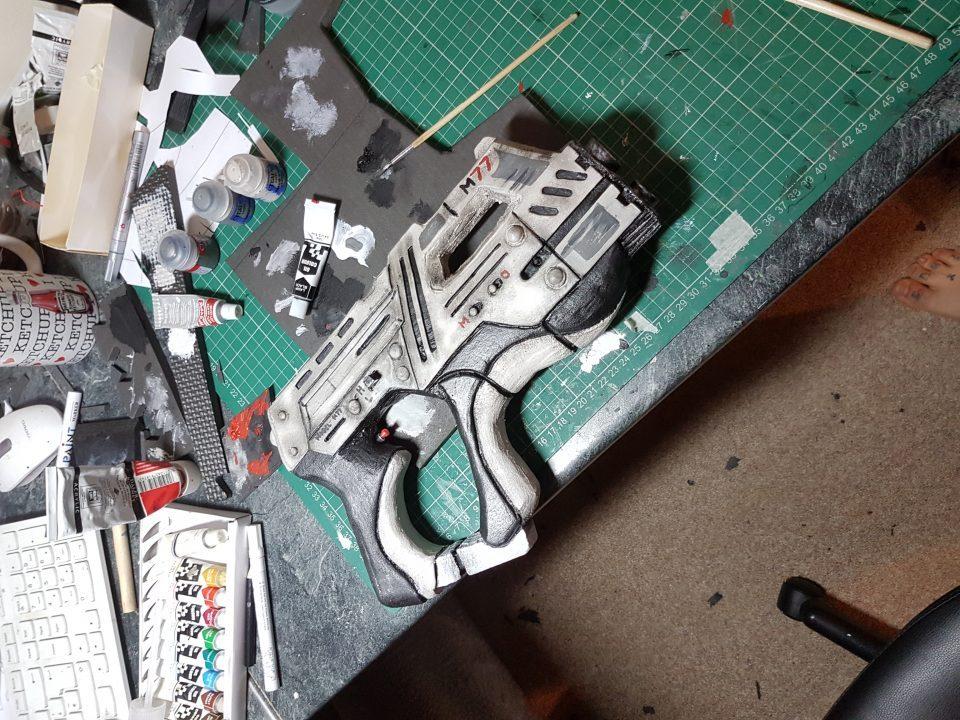 Alex Cosplay N7 Armor 004