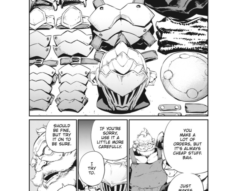 GOBLIN SLAYER CHAPTER 10 Review