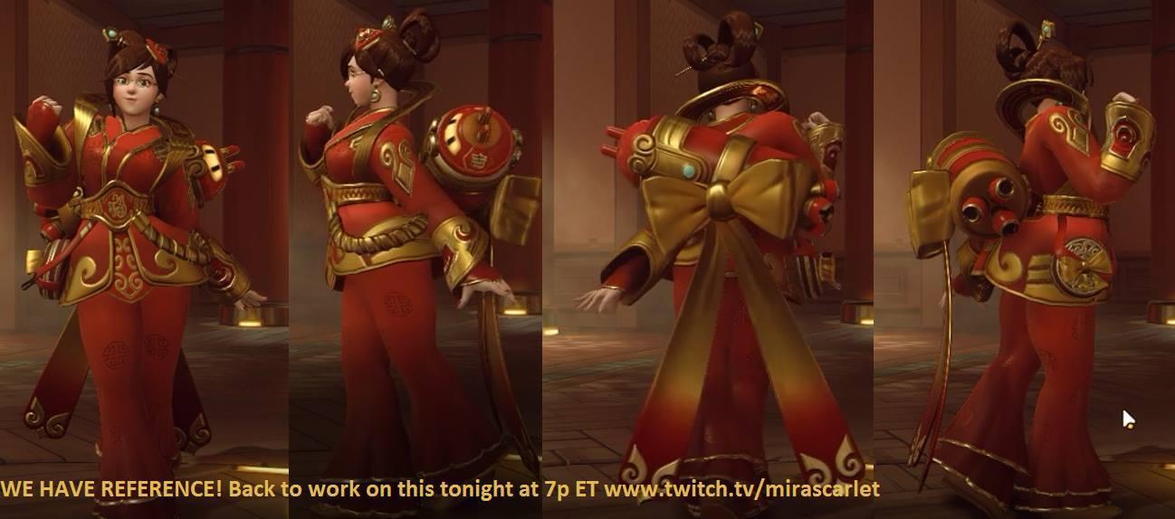 002 mira scarlet's mei chinese new year skin slideshow