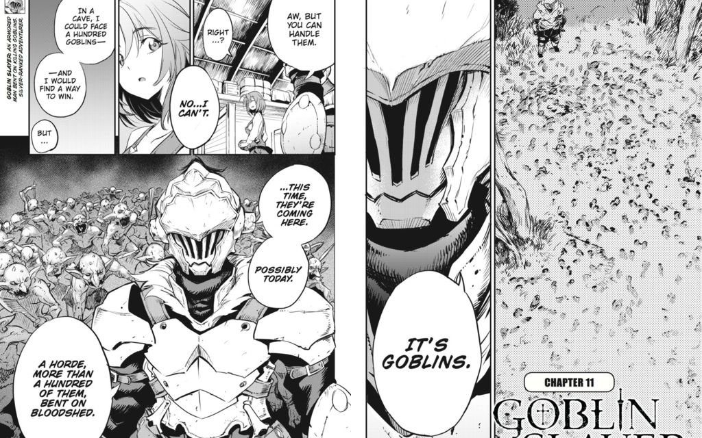 GOBLIN SLAYER CHAPTER 11 Review