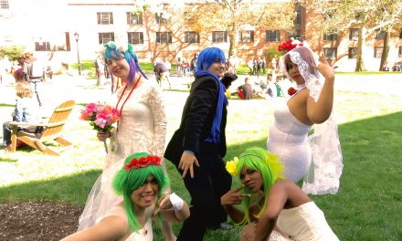 Vocaloid Cosplay Group at CPAC 2016