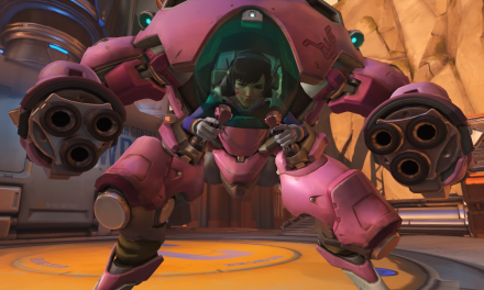 D.Va boosts into the Nexus!