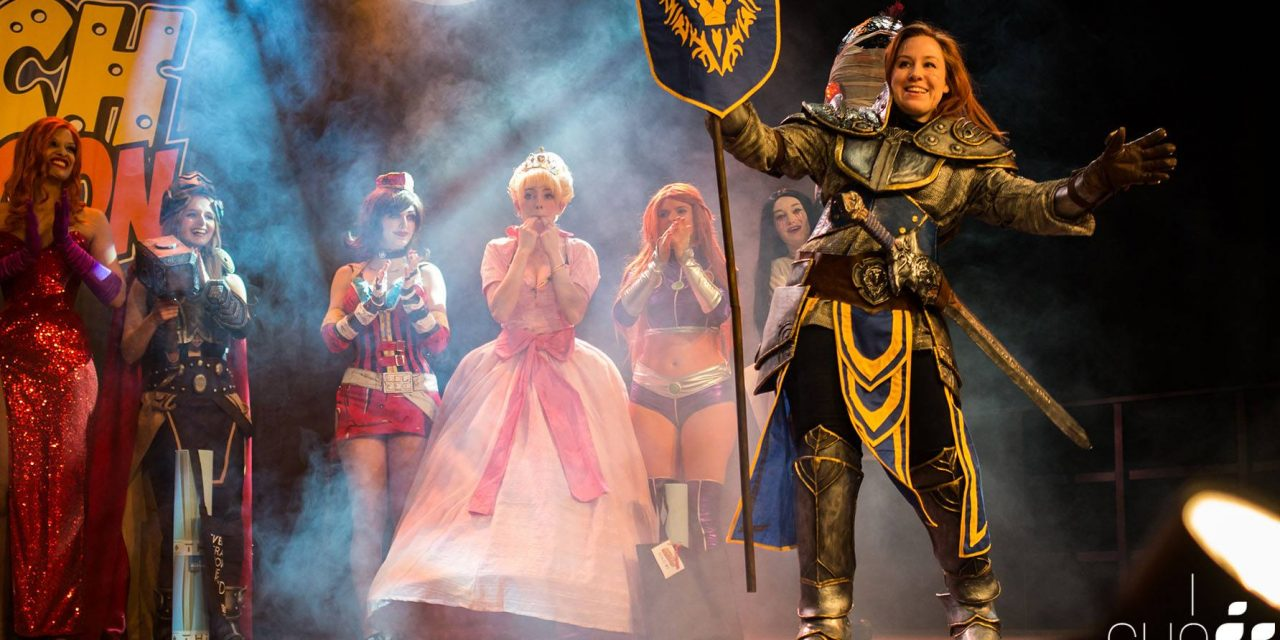 My first cosplay contest at Dutch Comiccon
