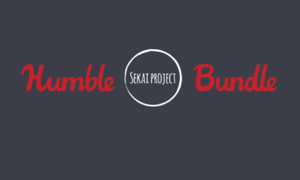 Sekai Project is on Humble Bundle