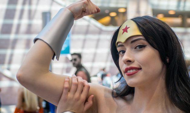 Kyandehime as Wonder Woman AnimeNext 2017