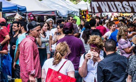 Picture of the day: Street Fair in the West Village