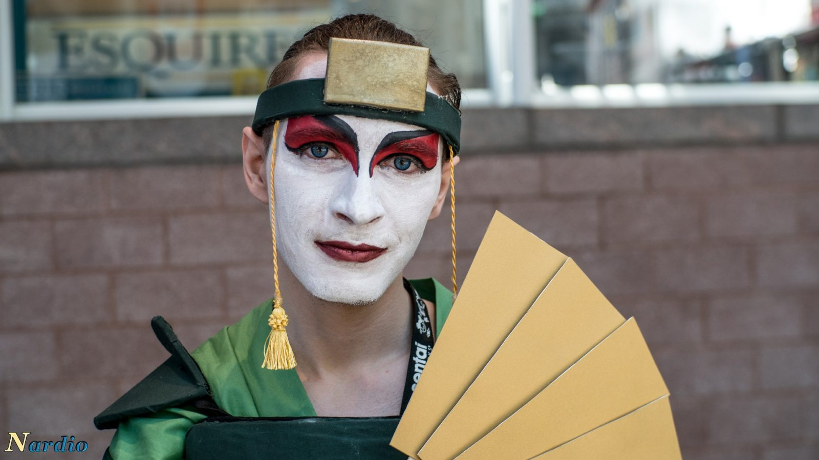SenPIE Cosplay Kyoshi Warrior