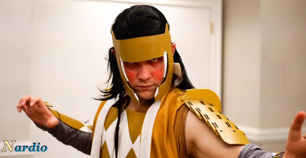 Flame Con Yellow Ranger