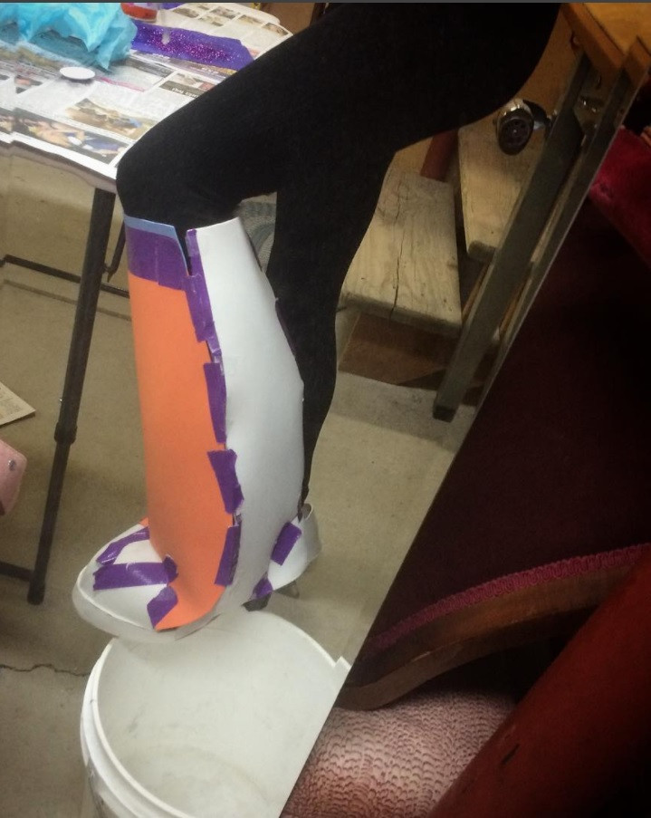 ekalyscosplay Uravity Boots tutorial