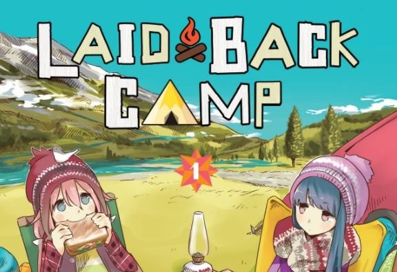 Laid Back Camp Manga Coming in March!