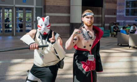 Pain & Anbu At AnimeNext