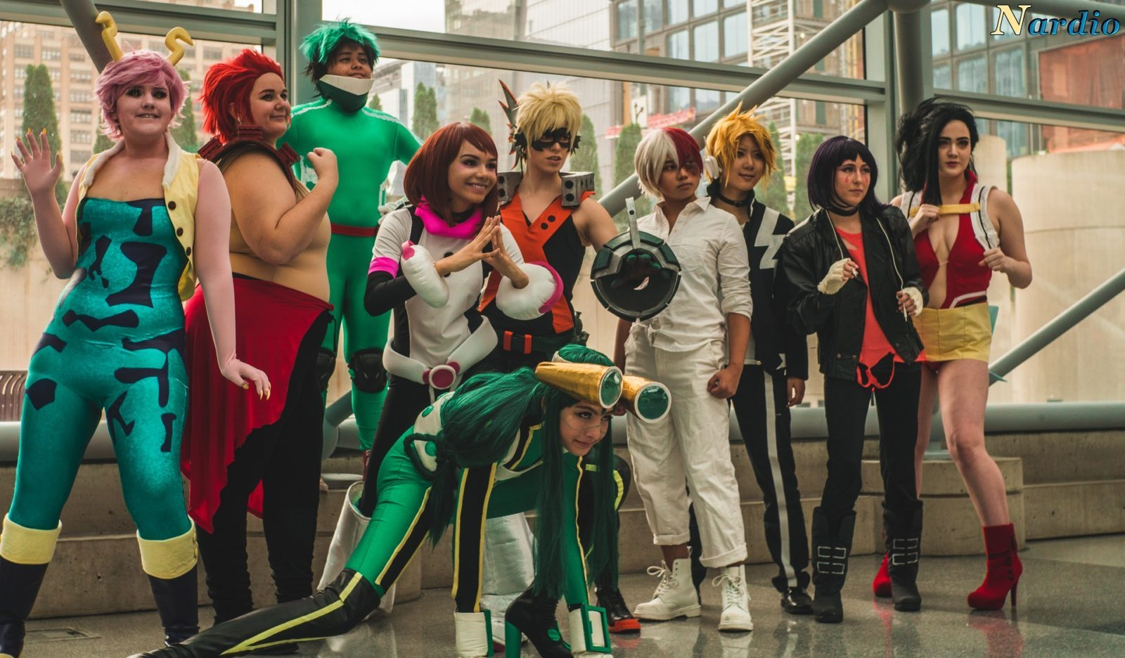 boku no hero academia Student Cosplay
