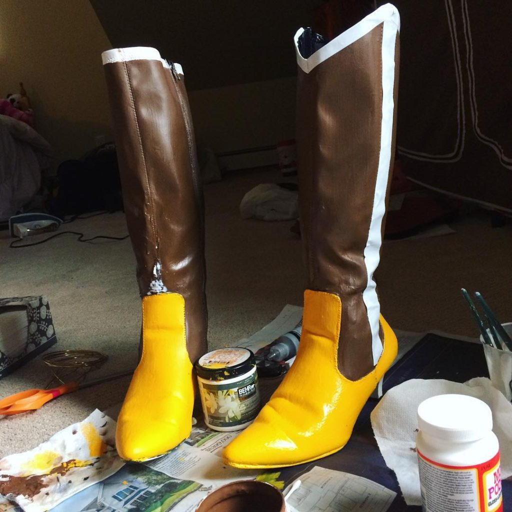 Ekalys Cosplay - Mami tutorial - Boots