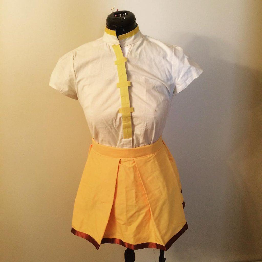 Ekalys Cosplay - Mami tutorial - blouse and skirt