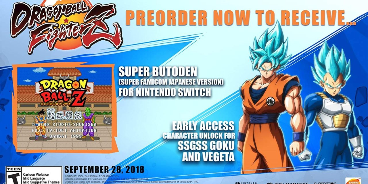 Dragon Ball FighterZ on Switch Set for September 28 in the West