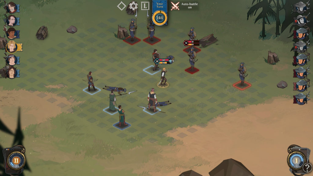 Ashes of God: Redemption gameplay