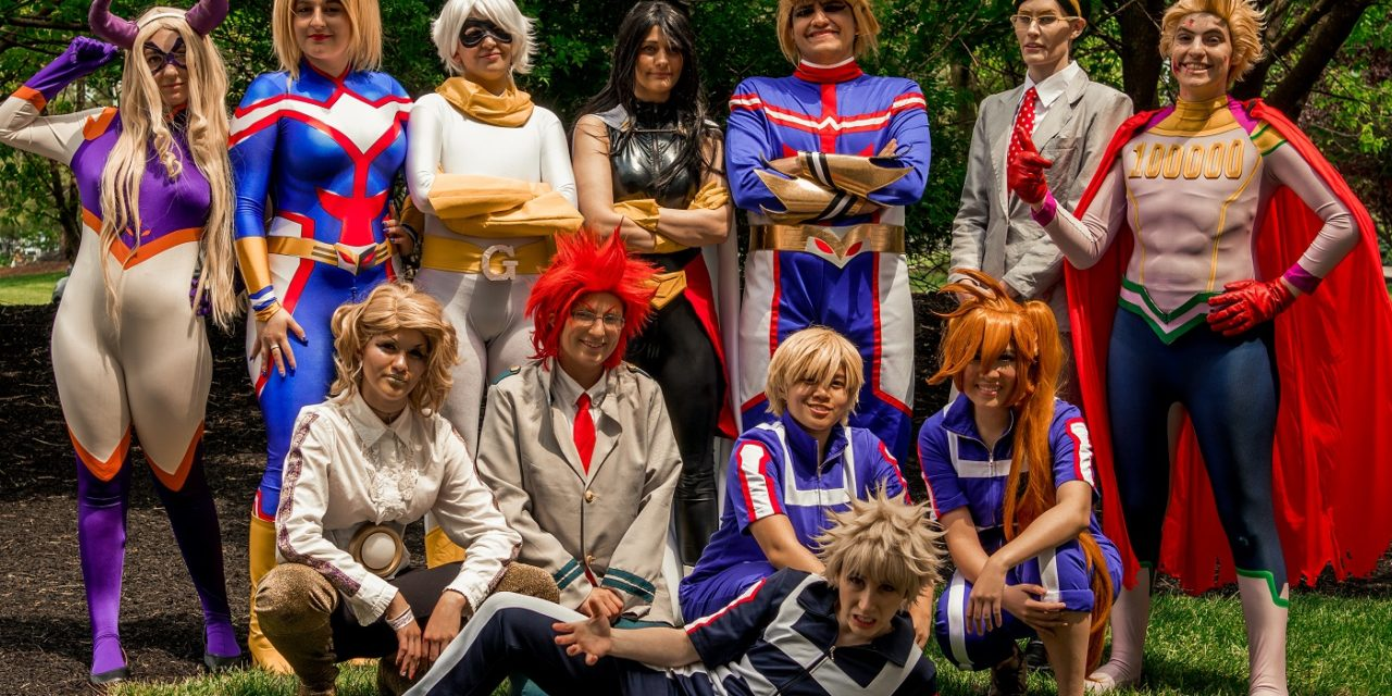 Anime Next 2018 My Hero Academia Cosplay