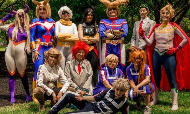 Anime Next 2018 My Hero Academia Cosplay