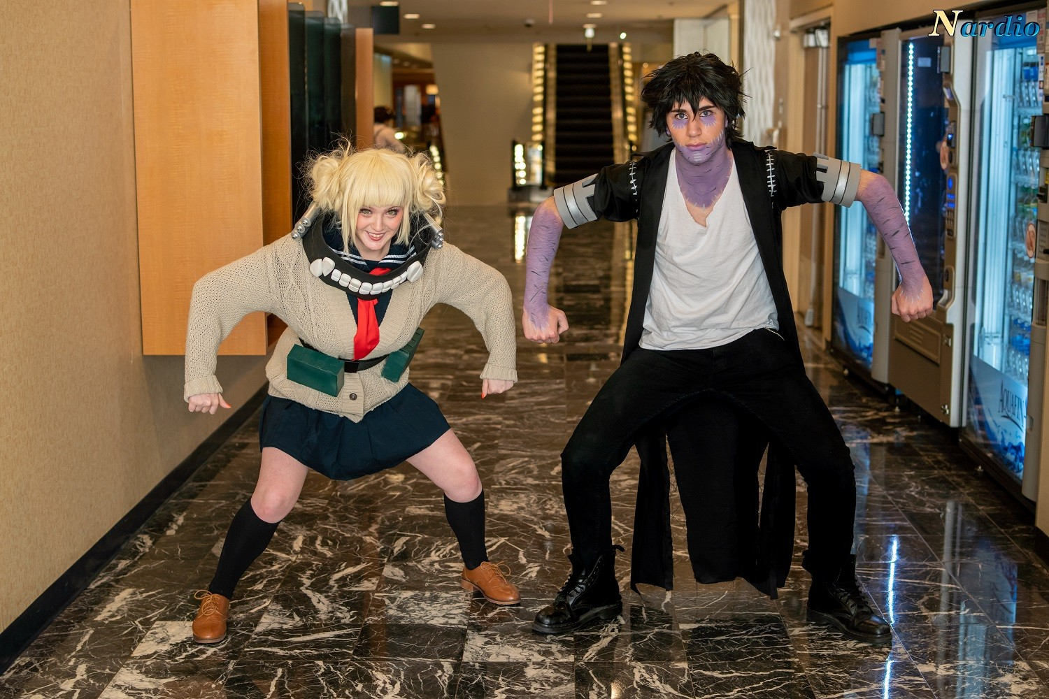 oga and Dabi at Liberty City Anime Convention