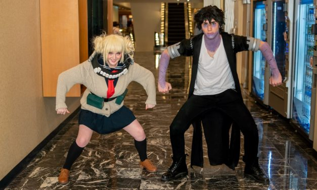 Toga and Dabi BFFs at Liberty City Anime Convention