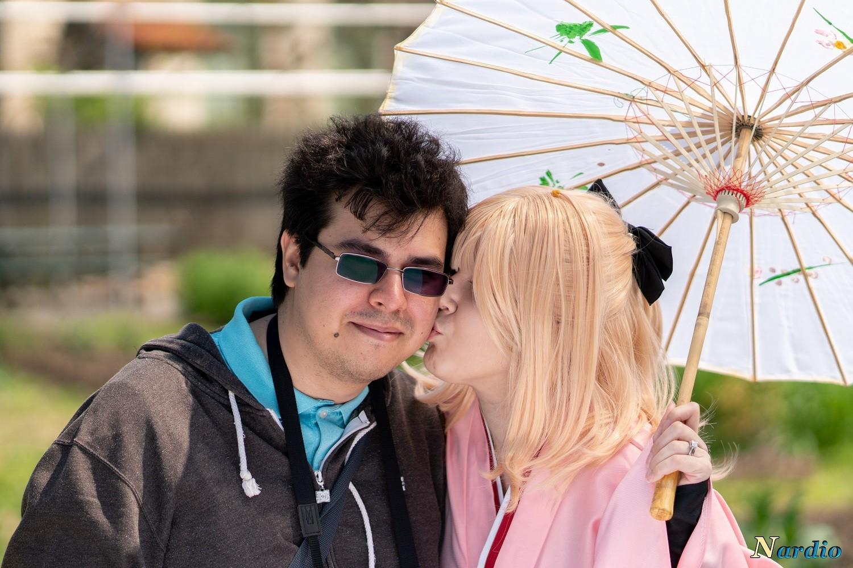 Electro Umbrella as Sakura Saber