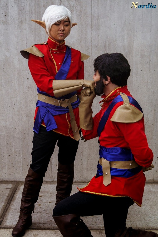 Dragon Age Couple Cosplay
