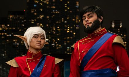 Dragon Age Couple Cosplay