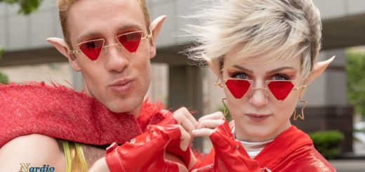TAZ Edward and Lydia Couple Cosplay