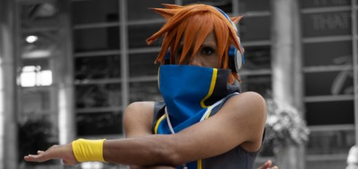Neku Sakuraba Cosplay At AnimeNext