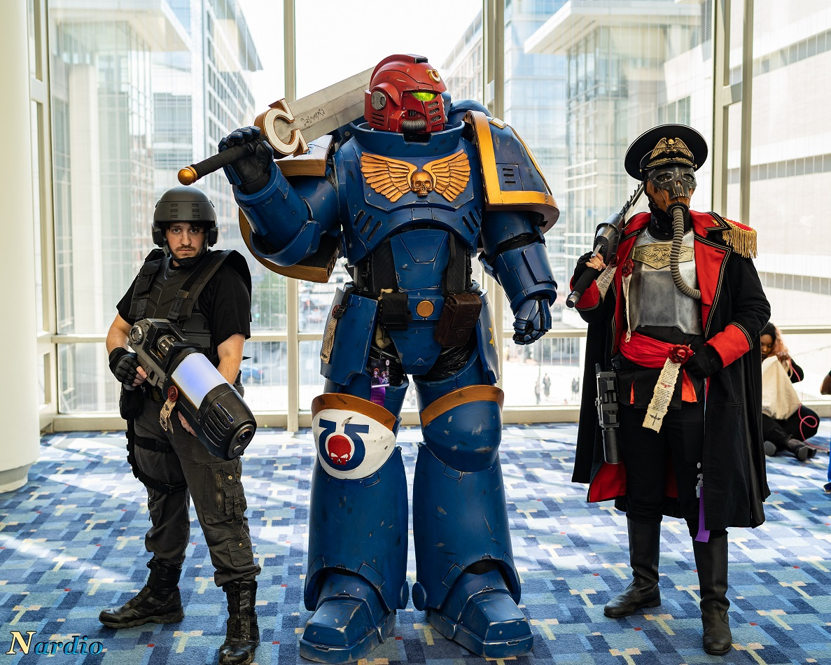 Warhammer Ultramarine Cosplay