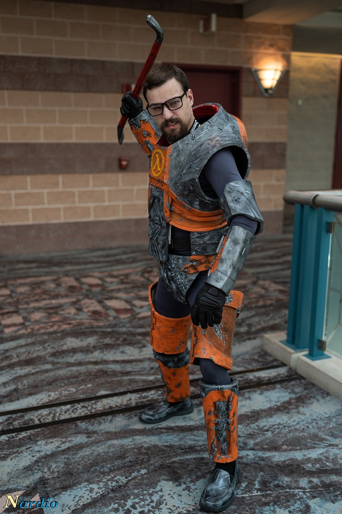 Gordon Freeman Cosplay