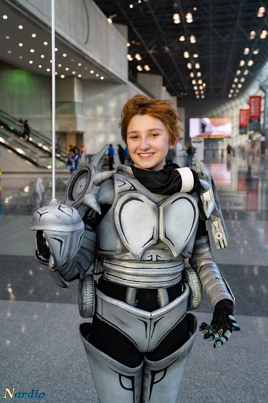 Silver Chariot Stand Cosplay